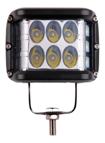Imagem 1 de 6 de Farol De Milha Led Work Light 36w 12v 24v 4860 Lumens Carro