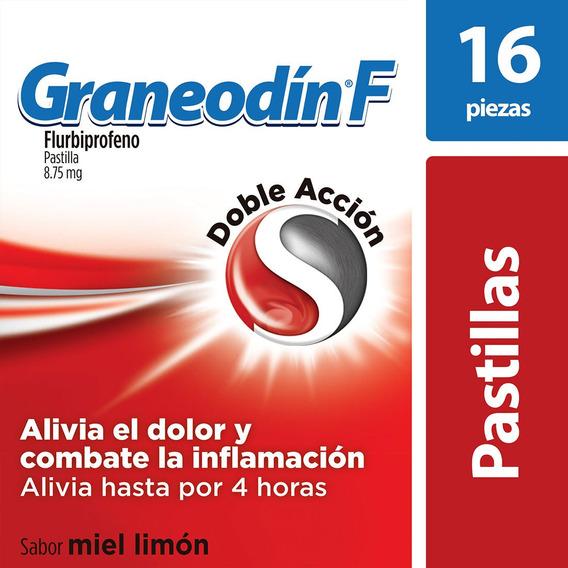 Pastillas Para Dolor E Inflamación De Garganta Graneodín F S