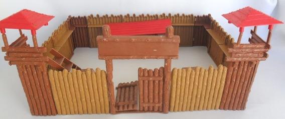 Forte Apache Gulliver Cenário Brinquedo Antigo