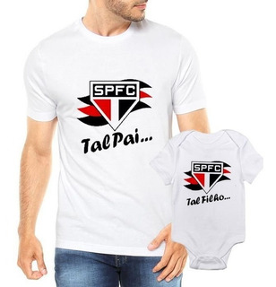 Camiseta Tal Pai Tal Filho Spfc Futbol Futebol Time