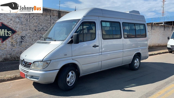 Mercedes-benz Sprinter Van 313 Luxo - Ano 2008 - Johnnybus