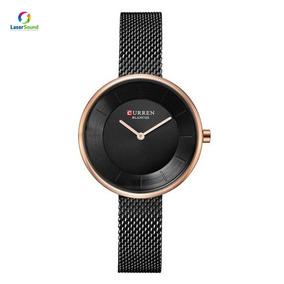 Relógio Feminino Curren Analógico C9030l C/ Garantia E Nf