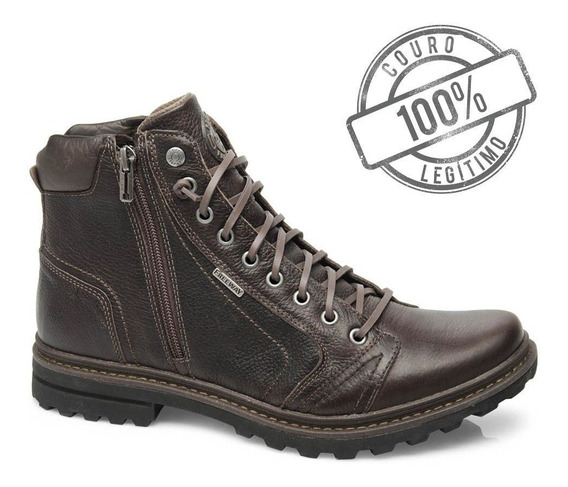 Bota Masculina Freeway Absolut1 Texas Capuccino Couro 3201