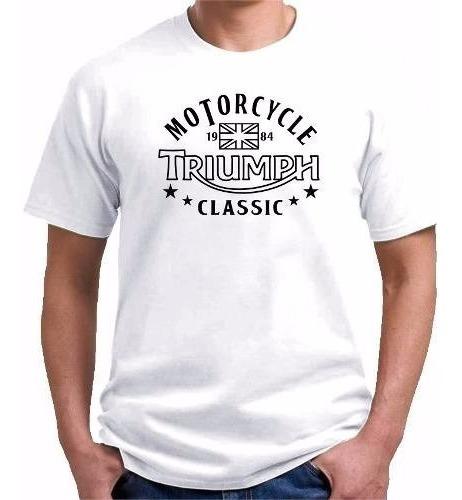 Camiseta Triumph Classic Motorcycle - Motoclube !!!