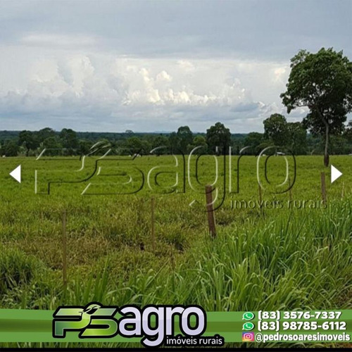 Imagem 1 de 14 de Fazenda À Venda, 34385 Hectares Por R$ 170.000.000 - Centro Norte - Cuiabá/mt - Fa0115