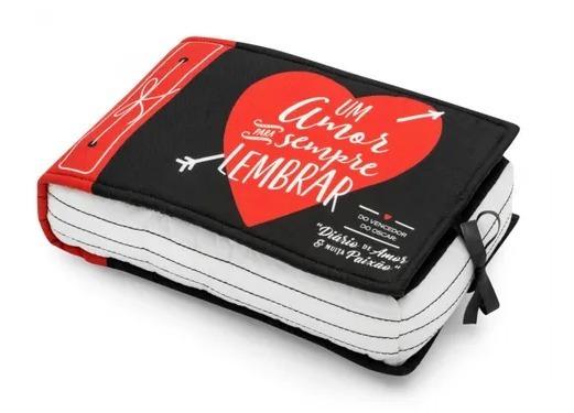 Almofada Livro Amor Para Lembrar Casal Decoração Ludi