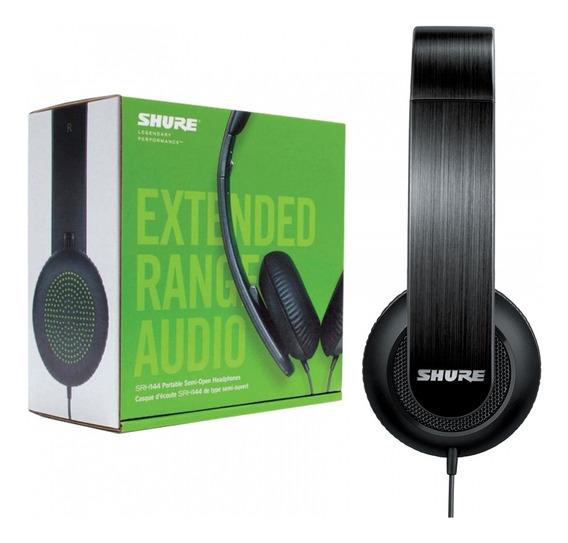 Headphone Fone De Ouvido Portátil Shure Original Srh 144 +nf