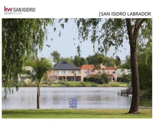Lote  Venta a Laguna  Barrio  San Isidro Labrador   Villa Nueva tigre