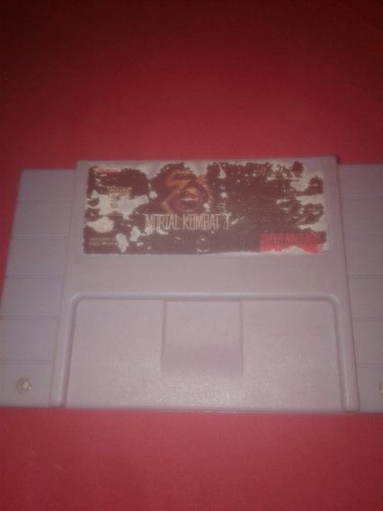 Mortal Kombat 3 Original Super Nintendo