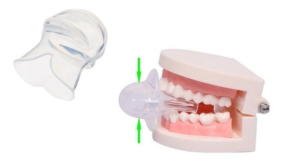 Anti Ronquidos Dispositivo Lingual Con Protector Higienico