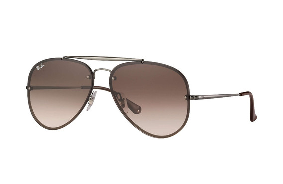 Óculos Ray Ban Aviador Blaze Rb 3584 004/13 61 - Original