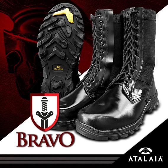 Coturno Militar Atalaia Bravo - Militar Exército - C/zíper