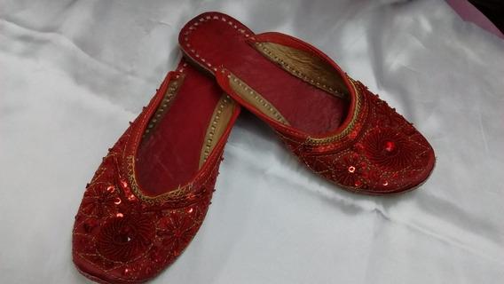 Chatitas Rapsodia,importadas,rojas N°38,bordadas,relindas!!!