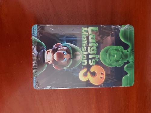 Luigi's Mansion 3 Steelbook Novo E Lacrado (não Contém Jogo)
