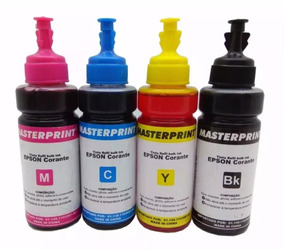 Kit Refil Epson Ecotank Masterprint 4 Cores