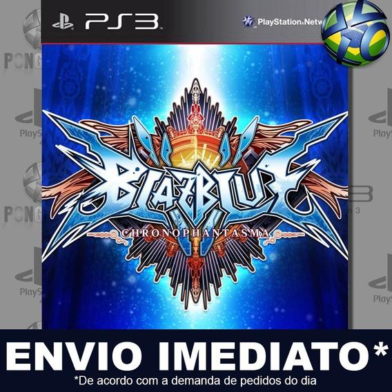 Blazblue Chrono Phantasma Ps3 Psn Jogo Em Promoção Play 3