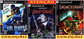 Legacy Of Kain Ps2 Soul Reaver Coleção (3 Dvds) Patch Me