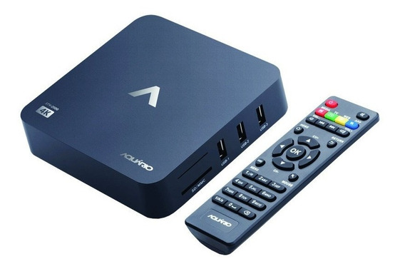 Smart Tv Box Aquário Stv-2000 Android 7.1.2 1gb Wi-fi