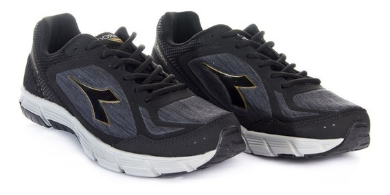 Zapatilla Diadora Way Black Gold T 34 35 36 37 38 39 41 42