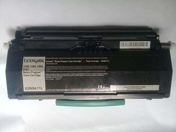 Kt 10 Toner Lexmark E260/e360/e460/e462 Vazio