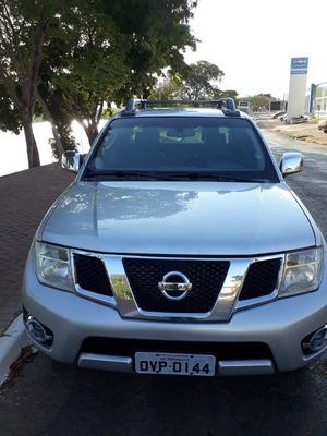 Nissan Frontier 4x4 Diesel Piloto Automático Prata Sl 2 5