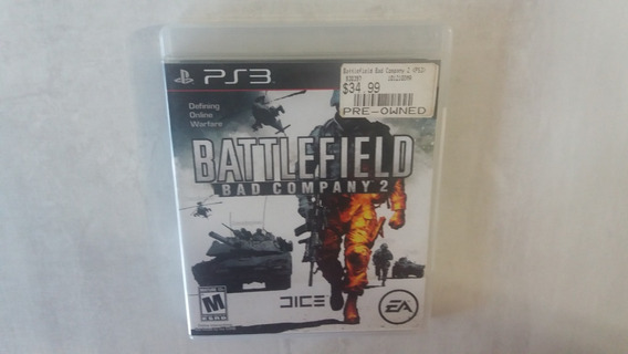 Battlefield Bad Company 2 - Ps3 - Original