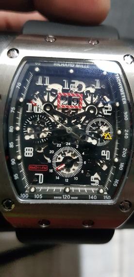 Relógio Richard Mille Rm Praticamente Zerado Lindo