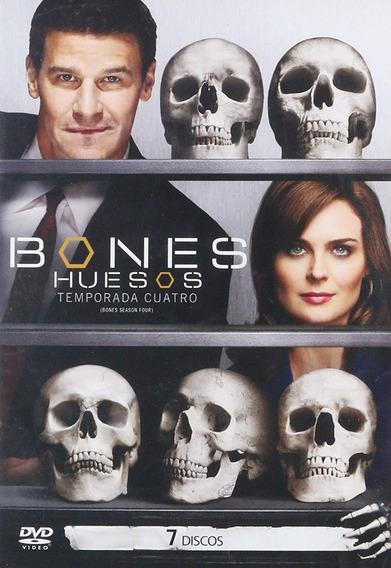 Bones Huesos Cuarta Temporada 4 Cuatro Dvd