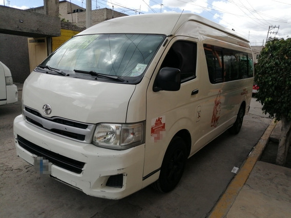 Toyota Hiace 2012 2.7 Van Super Larga Mt