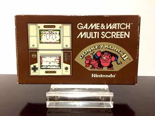 Nintendo Game & Watch Donkey Kong 2 Multi Screen Coleccion
