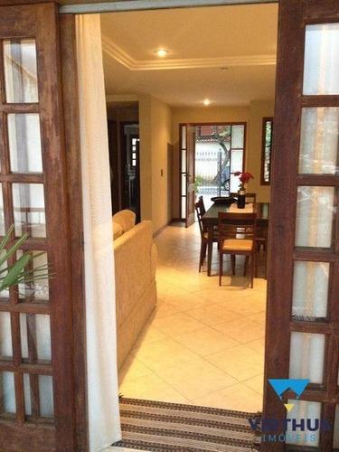 Imagem 1 de 15 de Casa Duplex No Condomínio Terral, Freguesia, 3 Quartos - V157