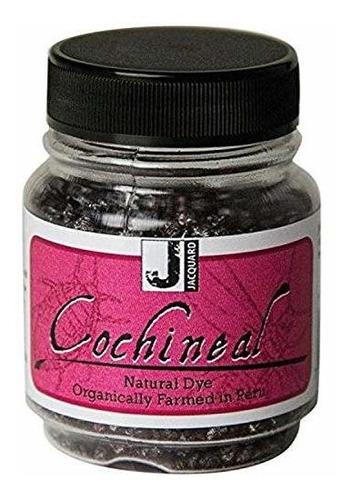 Jacquard Productos Tinte Natural Cochinilla, 1 Onza