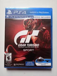 Gran Turismo Sport Juego Ps4 Nuevo Y Sellado