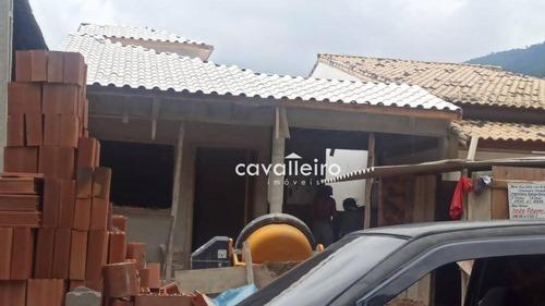 Casa Com 3 Dormitórios À Venda, 104 M² Por R$ 380.000,00 - Condado De Maricá - Maricá/rj - Ca4668