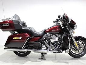 Harley Davidson Electra Glide Ultra Limited 2015 Vermelho