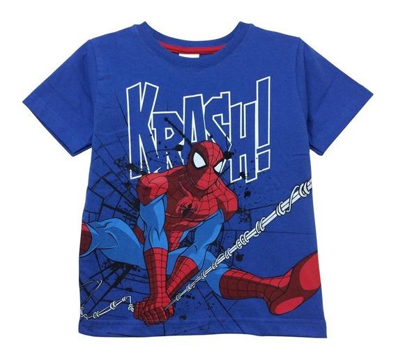 Playera Spidey Krash! De Spider-man Para Niño