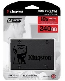 Ssd Kingston A400, 240gb, Sata, Leitura 500mb