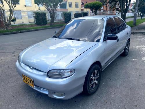Hyundai Accent Ls Mt1400cc Plata Elegante Aa Rines