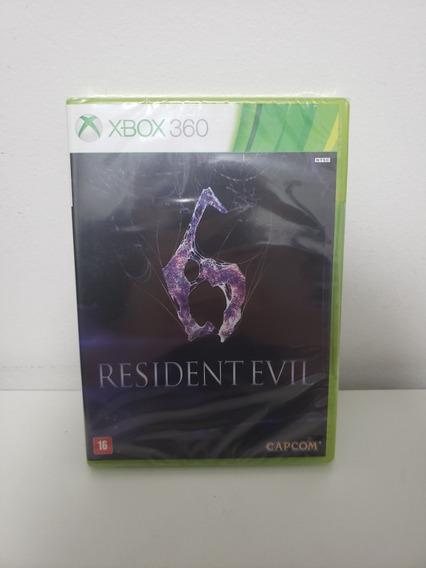 Jogo Xbox 360 - Resident Evil 6 - Lacrado Mídia Física