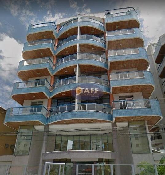 Apartamento Com 03 Dormitórios Para Locação Fixa, 110 M² - Bairro Algodoal - Cabo Frio/rj - Ap0680