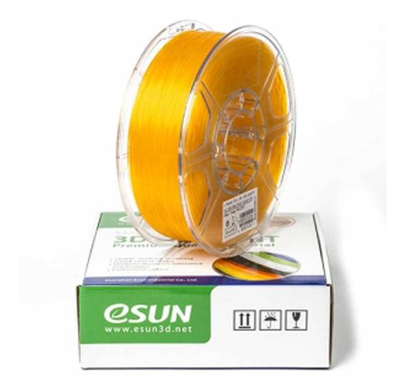Filamento Esun Glass Pla Lemon Yellow 1.75mm 1kg