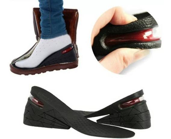 Plantilla Zapatos Aumenta Estatura 7cms Ortopédica Cómoda