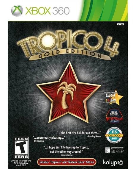 Tropico 4 Gold Edition - Xbox 360 Mídia Física Lacrado Nf