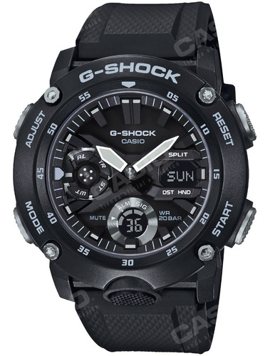 Reloj Casio G-shock Youth Ga-2000s-1a Carbon Guard