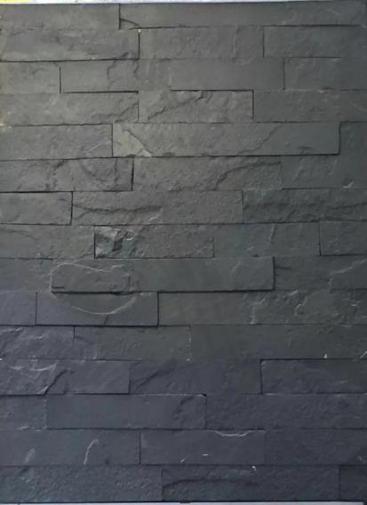 Pizarra Negra De 5 Cm X Largos Variables 25m2 Lote