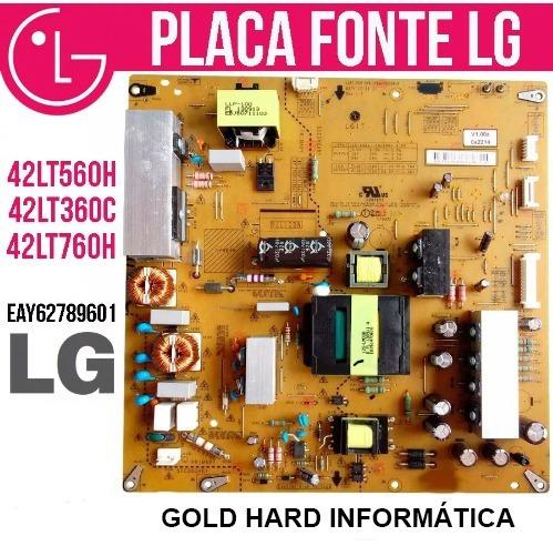 Placa Fonte Lg Original 42lt360c 42lt560h 42lt760h