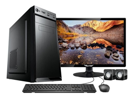 Computador Desktop Intel Core I5 / 4gb / 1tb / Tela 17