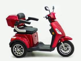 Triciclo Elétrico Plus - 0km Vermelho