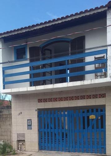 Sobrado Geminado Em Rua Calçada Em Itanhaém - 0072-sd