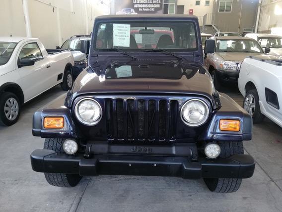 Jeep Wrangler 1999 4x4 Estandar Cambio